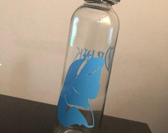 Alice in Wonderland Inspired Water Bottle