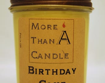 8 oz Birthday Cake Soy Candle
