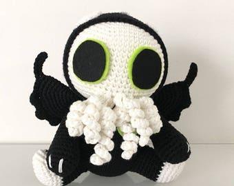 Cthulhu crochet pattern / PDF EN