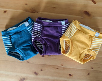 Trainers - Size 3T - Potty Learning Undies - Potty Training Underwear - Absorbent Sewn-in Liner