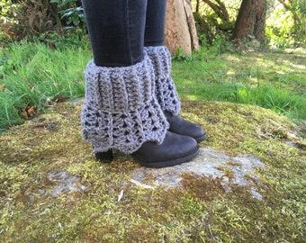PDF pattern - crochet pattern - boot cuffs pattern - legwarmers pattern - crochet legwarmers - crochet boot cuffs