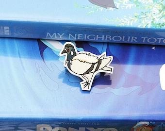 Studio Pidgli Pigeon Parody Illustration Brooch - Princess Mononoke