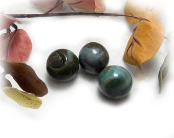 swirled marbles - old marbles , large marbles - hand blown marbles -  Agate  marbles - shooter marble- Vintage Glass Marble , lot of 3  # 28