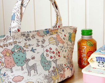 Insulated Japanese Food Bag - Kawaii Sandwich Snack Lunch Bag Tote Free Shipping