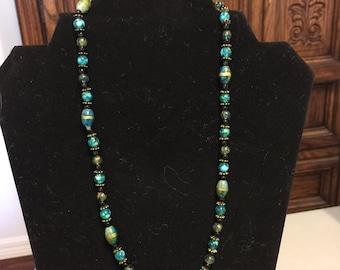 Classy aqua jewelry set