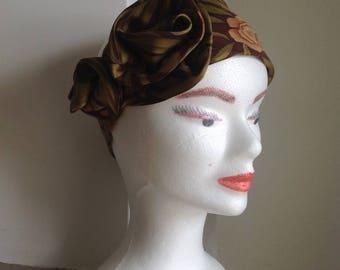 Silk headband women headband