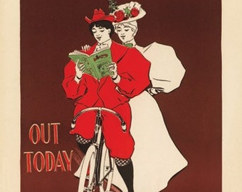 Bearings - Out Today Bicycle Poster (#0800) 6 sizes