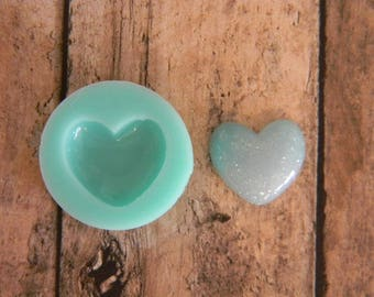 Silicone Flexible Mold- Heart Small