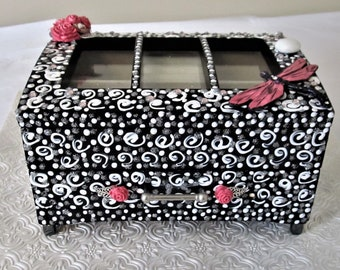 Dragonfly Jewelry Box, One of a kind