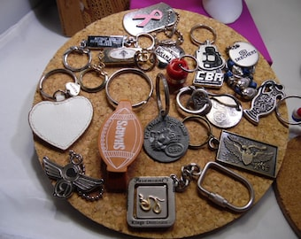 16 Different Key Chains Lot
