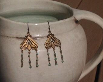 Back to my Hippie days dangle earrings EA011