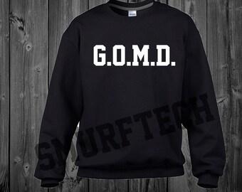 J-Cole G.O.M.D Crewneck Sweater / Sweatshirt