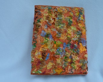 Texture frenzy embroidered journal