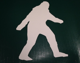 2 (two) Yeti, Sasquatch Vinyl Decals Free Shipping