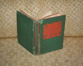 """On Sale!!  Wonderful 1950 """"The Second St. Nicholas Anthology""""!  Edited by Henry Steele Commager!  Hardcover!  Illustrated!!!"""