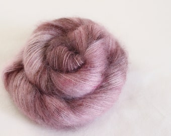 Blackberry Mousse - Feather - 72/28 Kid Mohair/ Silk - laceweight