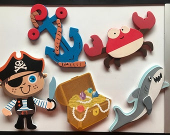 Pirate Magnetic Classroom Reward Pack