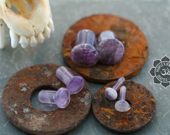Amethyst, Single Flare with silicone o rings
