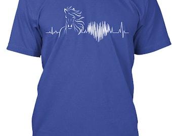 Horse Love    Hanes Tagless Tee Tshirt