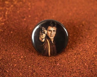 Malcolm Reynolds Button