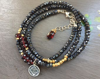 Chakra Wrap Bracelet Yoga Wrap Bracelets
