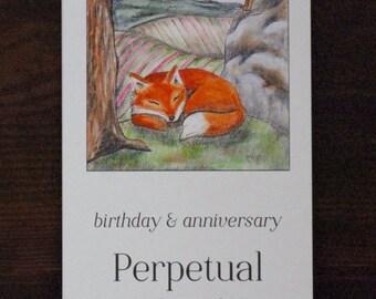 Perpetual Calendar for Birthdays and Anniversaries