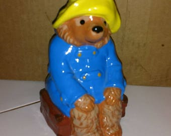 1978 eden toys paddington bear from the gift world of gorham made in korea perfect shape has plug