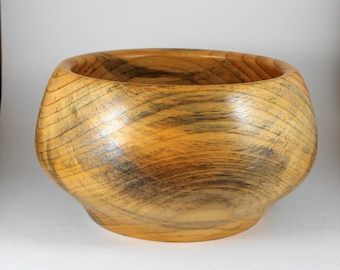 hand turned pine bowl