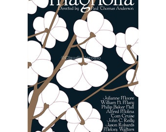Movie poster print Magnolia in different sizes