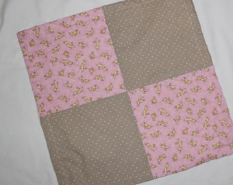 Pink Guess How Much I Love You Minky Security Blanket Lovey