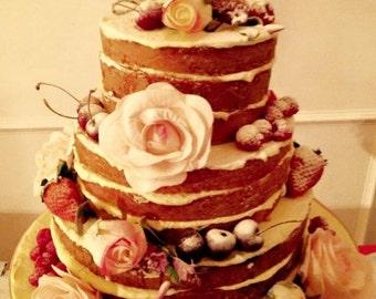 Personalised Wedding Cake Topper Bird Cake Topper Love Bird Topper Rustic Cake Topper Cake Topper