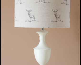 Stag Lampshade  ( base not included )