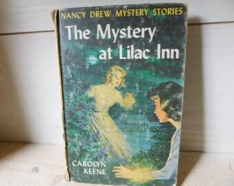 Vintage Nancy Drew Book - The Mystery at Lilac Inn