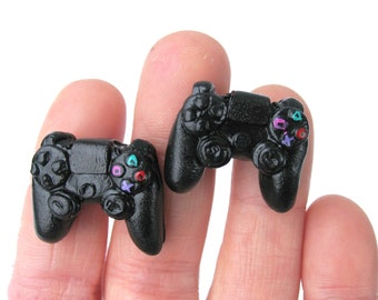 Playstation Controller Cuff Links - Gamer Fashion - Playstation - Playstation Jewelry - Wedding Cuff Links - Groomsmen Gift - Gamer