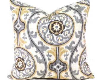 Pillow Covers Decorative Pillows ANY SIZE Pillow Cover Black Grey Pillow Magnolia Oh Suzanni Metal