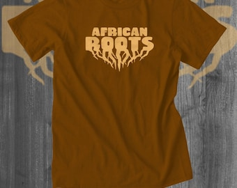 Tshirts African Roots Afrocentric T-Shirt African American T shirts tees gifts for him dad present women tops plus size lineage Africa