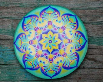 The soul of water mandala magnet