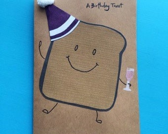A Birthday Toast Birthday Card