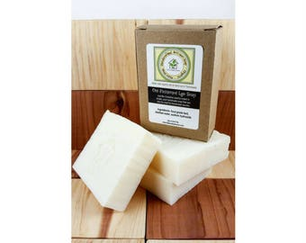 Pure and Natural Lye Soap