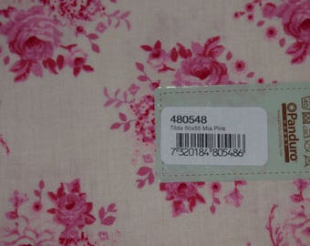 Coupon Tilda Mia Pink ref 480548 fabrics