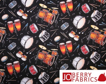 Live Jazz Fabric
