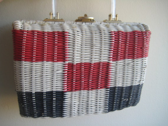 Classic Wicker Bag from the 60's!