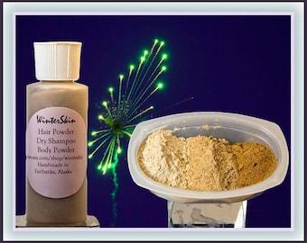 Hair Powder, Volumizing Dry Shampoo, Body Powder Deodorant