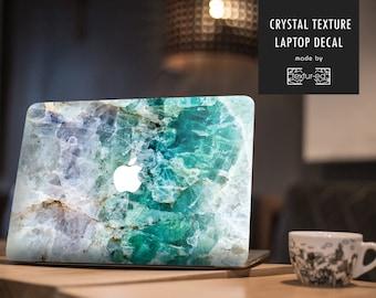 Crystal Texture Macbook Decal / Macbook Sticker / Stickers Macbook Pro / Macbook Air sticker / Macbook air skin /Macbook pro 13 case /TXD003