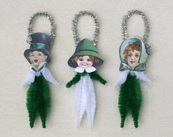 St. Patrick's Day Chenille Ornaments - St. Patrick's Day Decorations