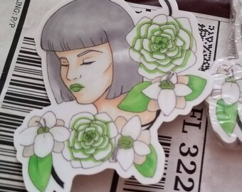 Floral Lady 1