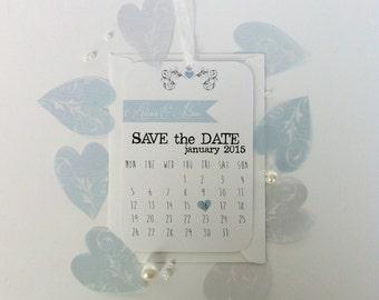 Calendar Save The Date Tag Sample