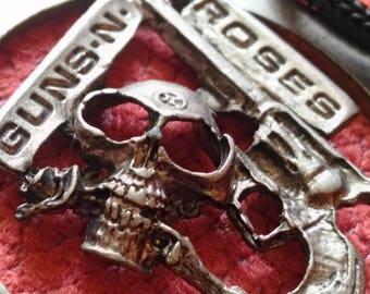 guns n roses , 80s vintage pendant . for real nostalgic 80s !!! necklace