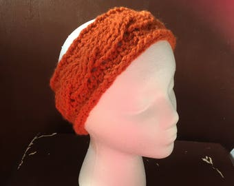 Faux Cable Knit Ear Warmer