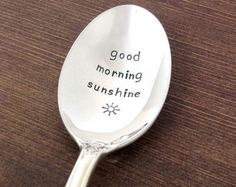 birthday gift for daughter, daughter gift, gift ideas for her, coffee spoon, morning sunshine, gift under 20